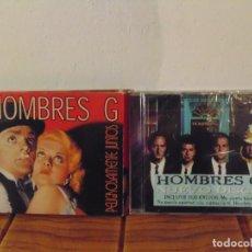 Vidéos y DVD Musicaux: CD DVD HOMBRES G, PELIGROSAMENTE JUNTOS + HOMBRE G 10 (CD PRECINTADO). Lote 276020728