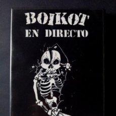 Vídeos y DVD Musicales: BOIKOT - CRIA CUERVOS - EN DIRECTO - DVD - 2005 - BOA. Lote 276397578