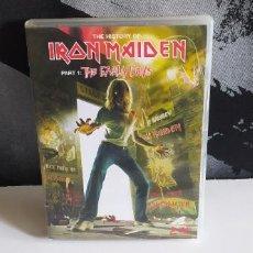 Video e DVD Musicali: IRON MAIDEN THE HISTORY OF PART 1 THE EARLY DAYS 2 DVD´S BUEN ESTADO. Lote 277261243