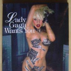 Vídeos y DVD Musicales: LADY GAGA WANTS YOU DVD. Lote 277687113