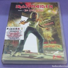 Vídeos y DVD Musicales: THE HISTORY OF IRON MAIDEN - PART 1: THE EARLY DAYS [2 DVDS]. Lote 277700288