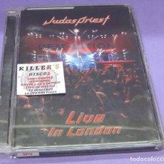 Vídeos y DVD Musicales: JUDAS PRIEST - LIVE IN LONDON [DVD]. Lote 277705748