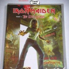 Vídeos e DVD Musicais: THE HISTORY OF IRON MAIDEN: PART 1 THE EARLY DAYS, NUEVO Y PRECINTADO!!!, CON DOS DVD, 28A. Lote 140057728