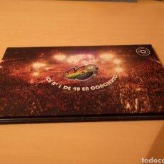 Vídeos y DVD Musicales: LOS NÚMERO 1 DE LOS 40 EN CONCIERTO - LIBRO EN TAPA DURA + 2 DVD - EDICIÓN LIMITADA AÑO 2006. Lote 278431818
