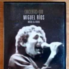 Vídeos y DVD Musicales: CONCIERTOS DE ORO MIGUEL RIOS ROCK & RIOS DVD VIDEO PLANETA. Lote 278595748