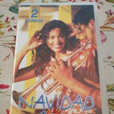 Vídeos y DVD Musicales: 2 VHS NAVIDAD 2001 DISCLUB ALEJANDRO SANZ FITO ARIEL ROT MICHAEL JACKSON JUANES SHAKIRA. Lote 280713548