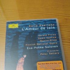 Vídeos e DVD Musicais: OPERA L'AMOUR DE LOIN DE KAIJA SAARIAHO EN DVD DE DEUTSCHE GRAMMOPHON. Lote 282499788