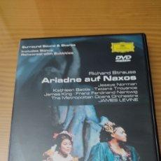 Vidéos y DVD Musicaux: OPERA ARIADNE AUF NAXOS DE RICHARD STRAUSS EN DVD DE DEUTSCHE GRAMMOPHON. Lote 282500813