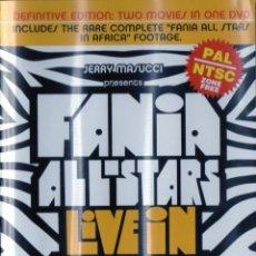 Vídeos e DVD Musicais: FANIA ALL STARS - LIVE IN AFRIKA - CELIA CRUZ - DVD. Lote 283157958