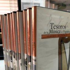 Vidéos y DVD Musicaux: COLECCIÓN DVD TESOROS DE LA MÚSICA DE ESPAÑA - PLÁCIDO DOMINGO JOSE CARRERAS CANTO GREGORIANO …. Lote 284756268