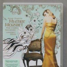 Vídeos y DVD Musicales: DVD.MUTTER. MOZART. THE VIOLIN SONATAS. Lote 285314998
