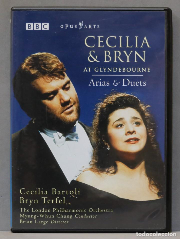 DVD. CECILIA & BRYN. ARIAS & DUETS. TERFEL. BARTOLI (Música - Videos y DVD Musicales)