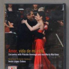 Vídeos y DVD Musicales: DVD. AMOR VIDA DE MI VIDA. LOPEZ COBOS. Lote 285315938