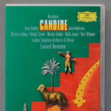 Vídeos y DVD Musicales: DVD. CANDIDE. BERNSTEIN. Lote 285316348
