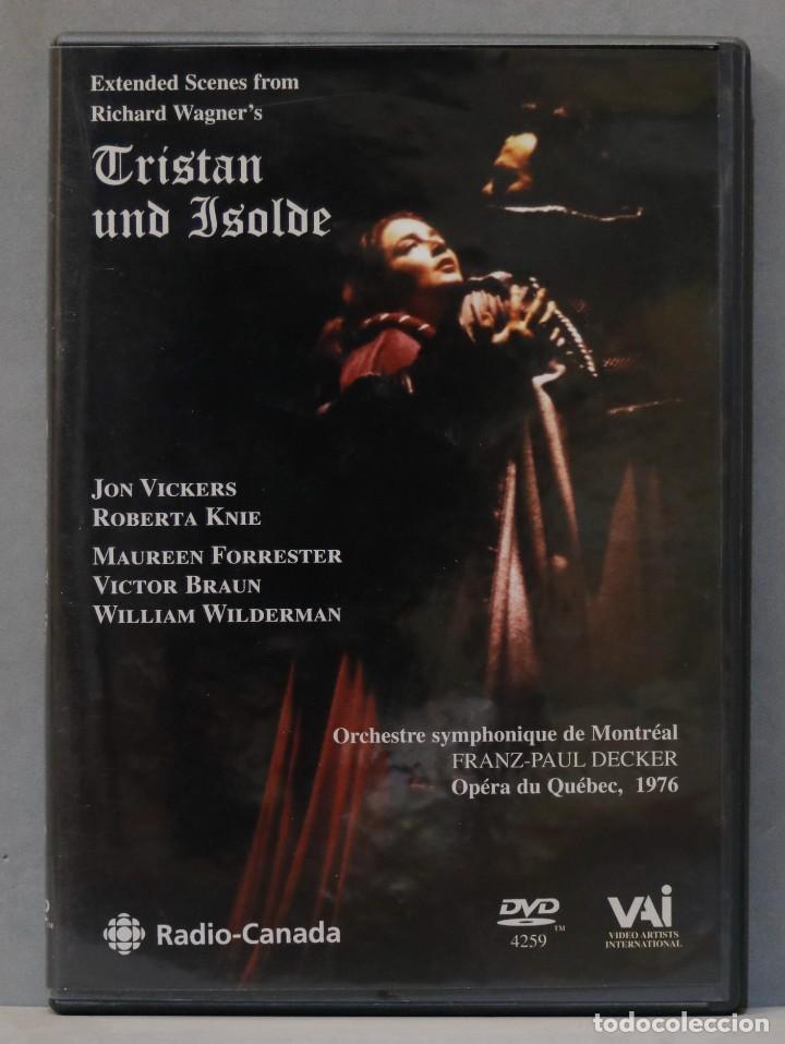 DVD. TRISTAN UND ISOLDE. WAGNER. DECKER (Música - Videos y DVD Musicales)