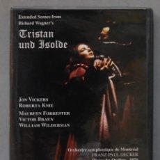 Vídeos y DVD Musicales: DVD. TRISTAN UND ISOLDE. WAGNER. DECKER. Lote 285317153