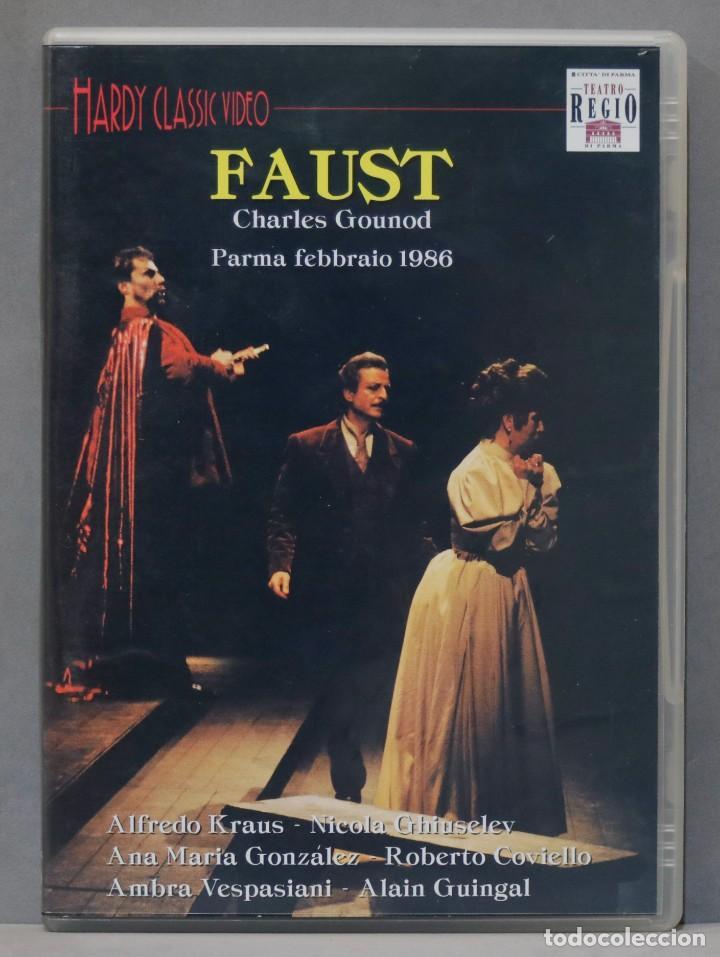 DVD. FAUST. GOUNOD. 1986 (Música - Videos y DVD Musicales)
