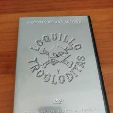 Vídeos y DVD Musicales: DVD LOQUILLO Y TROGLODITAS. 25 AÑOS DE ROCK AND ROLL. HISTORIA DE UNA ACTITUD. Lote 285402483