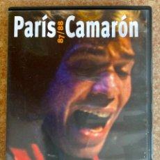 Vídeos y DVD Musicales: CAMARÓN DE LA ISLA - DVD PARIS. Lote 285512283