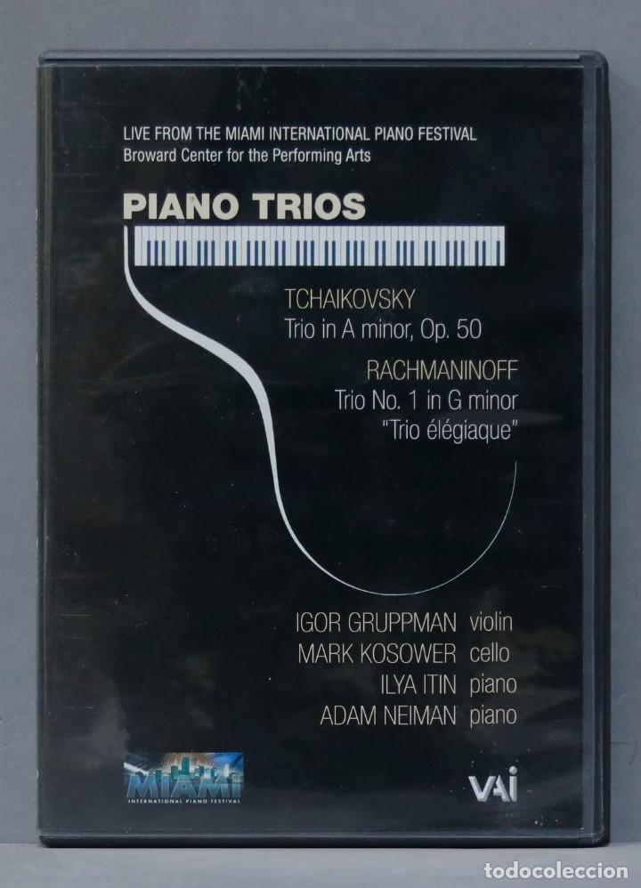 DVD. TCHAIKOVSKY. RACHMANINOFF. PIANO TRIOS (Música - Videos y DVD Musicales)