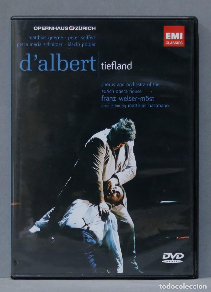 DVD. TIEFLAND. D'ALBERT (Música - Videos y DVD Musicales)