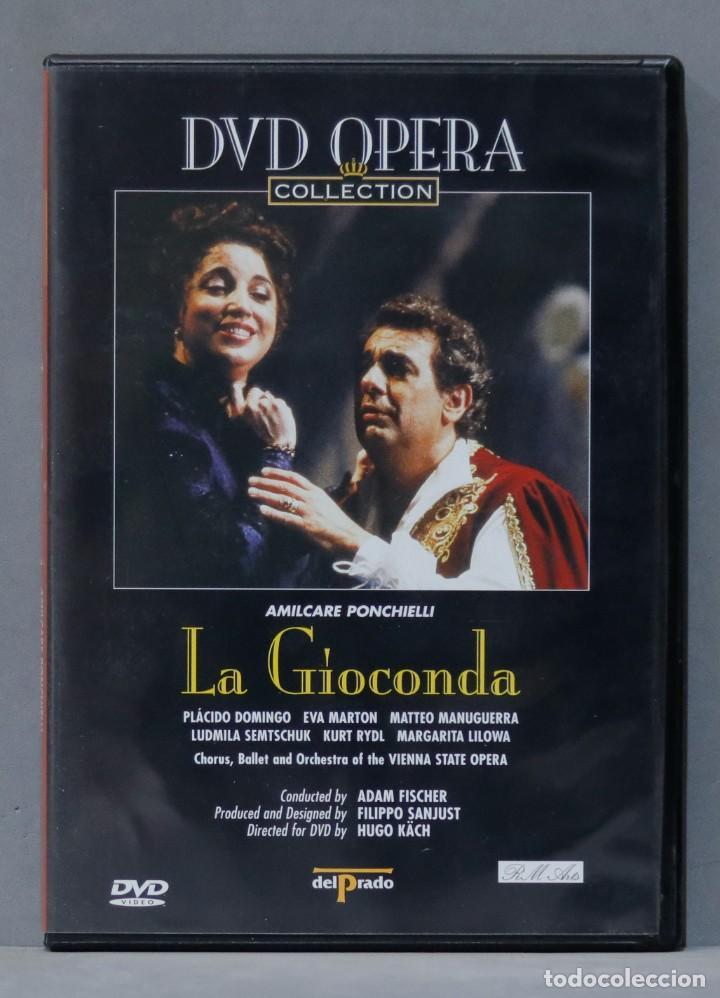 DVD. LA GIOCONDA. PONCHIELLI (Música - Videos y DVD Musicales)
