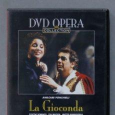 Vídeos y DVD Musicales: DVD. LA GIOCONDA. PONCHIELLI. Lote 285683208