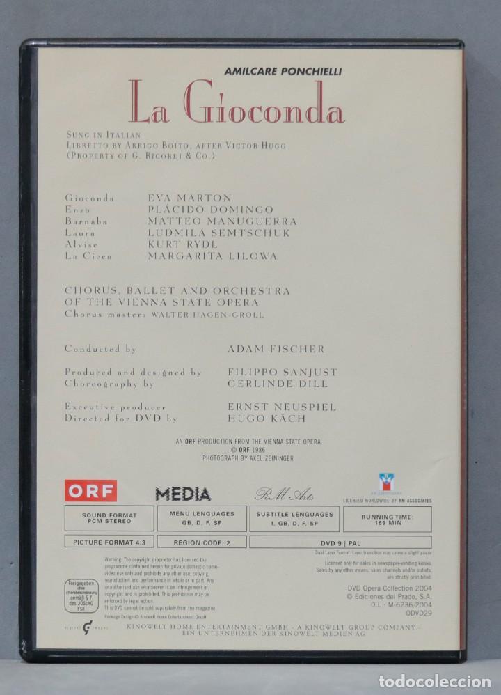 Vídeos y DVD Musicales: DVD. LA GIOCONDA. PONCHIELLI - Foto 2 - 285683208