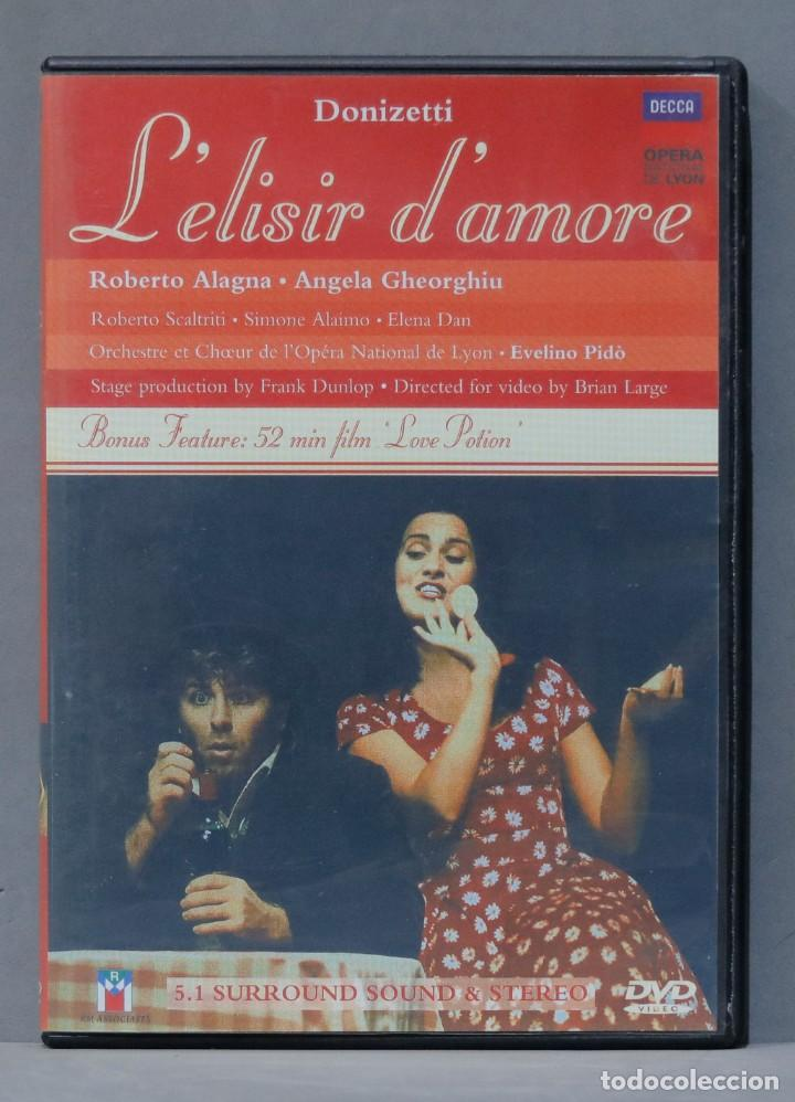 DVD. GAETANO DONIZETTI. L'ELISIR D'AMORE (Música - Videos y DVD Musicales)