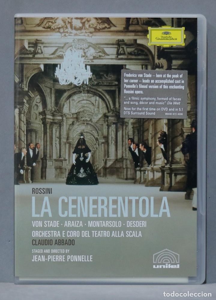 DVD. LA CENERENTOLA. ROSSINI (Música - Videos y DVD Musicales)