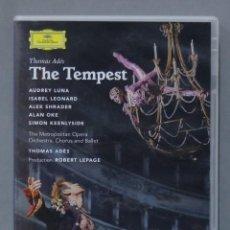 Vídeos y DVD Musicales: DVD. THOMAS ADES. THE TEMPEST. Lote 285687073