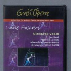 Vídeos y DVD Musicales: DVD. I DUE FOSCARI. VERDI. Lote 285687953