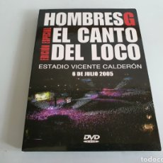 Vídeos y DVD Musicales: HOMBRES G + EL CANTO DEL LOCO - EDICIÓN ESPECIAL. Lote 287964293