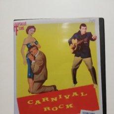 Vídeos y DVD Musicales: DVD, ROCK,'ROLL, ROCKABILLY - CARNIVAL ROCK 1957 BOB LUMAN, THE PLATTERS..... Lote 288160588