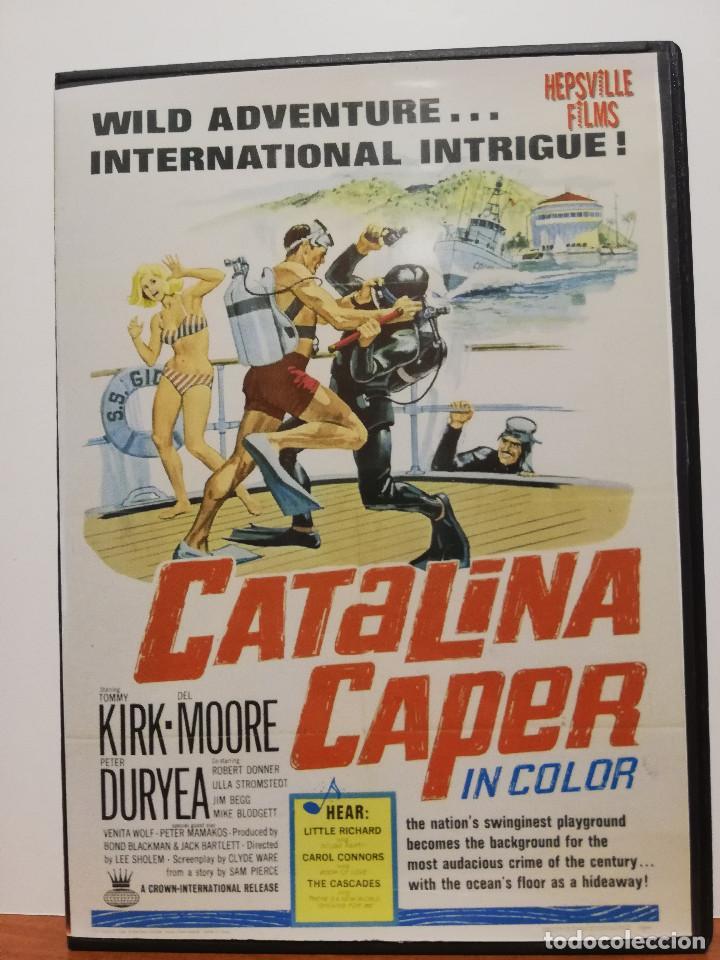 DVD, ROCK´N'ROLL, SOUL, DOO WOP, CATALINA CAPER (1967) LITTLE RICHARD, THE CASCADES ETC... (Música - Videos y DVD Musicales)