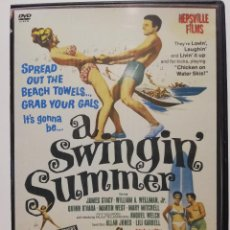 Vídeos y DVD Musicales: DVD, ROCK´N'ROLL, SOUL, DOO WOP A SWINGIN SUMMER (1965)RIGHTEOUS BROTHERS, RIP CHORDS, DONNIE BROOKS. Lote 288161893