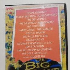 Vídeos y DVD Musicales: DVD, ROCK,'ROLL, ROCKABILLY, DOO WOP - THE BIG BEAT 1958 FATS DOMINO, DEL VIKINGS, DIAMONDS.... Lote 288162418