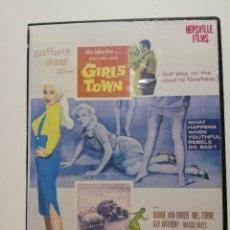 Vídeos y DVD Musicales: DVD, ROCK,'ROLL, ROCKABILLY - GIRLS TOWN 1959 MAMIE VAN DOREN, THE PLATTERS, PAUL ANKA.... Lote 288162803