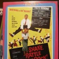 Vídeos y DVD Musicales: SHAKE, RATTLE & ROCK (AL LOCO RITMO DEL ROCK AND ROLL). 1956 DVD ROCK & ROLL B MOVIE USA. Lote 288163863