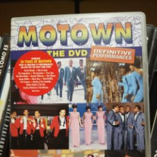 Vídeos y DVD Musicales: DVD SOUL.... MOTOWN THE DEFINITIVE PERFORMANCES.... TEMPTATIONS, MIRACLES SUPREMES ETC.... Lote 288166208