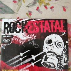 Vídeos y DVD Musicales: DVD ROCK ESTATAL 3 92 GRUPOS ROCK PUNK METAL. Lote 288199053