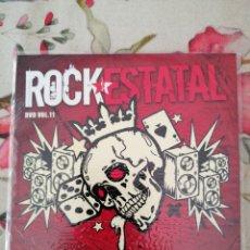 Vídeos y DVD Musicales: DVD ROCK ESTATAL 11 104 GRUPOS ROCK PUNK METAL. Lote 288199168