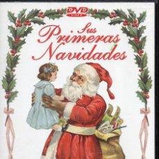 Vídeos y DVD Musicales: SUS PRIMERAS NAVIDADES DVD+CD. Lote 288559393