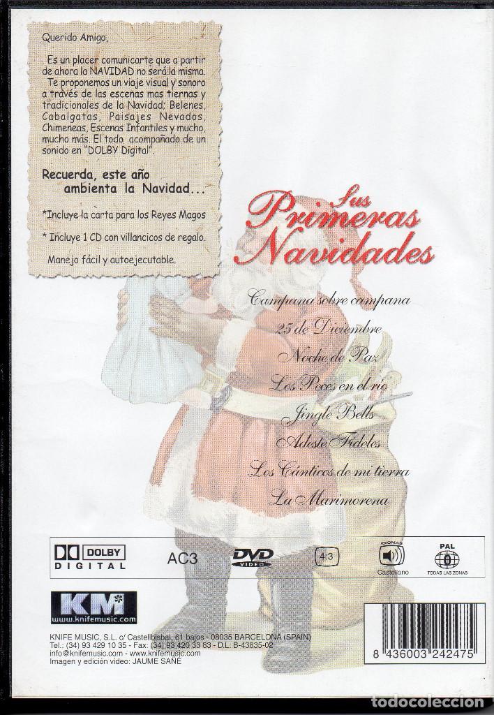 Vídeos y DVD Musicales: SUS PRIMERAS NAVIDADES DVD+CD - Foto 2 - 288559393