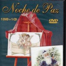 Vídeos y DVD Musicales: NOCHE DE PAZ-- DVD+CD. Lote 288560088