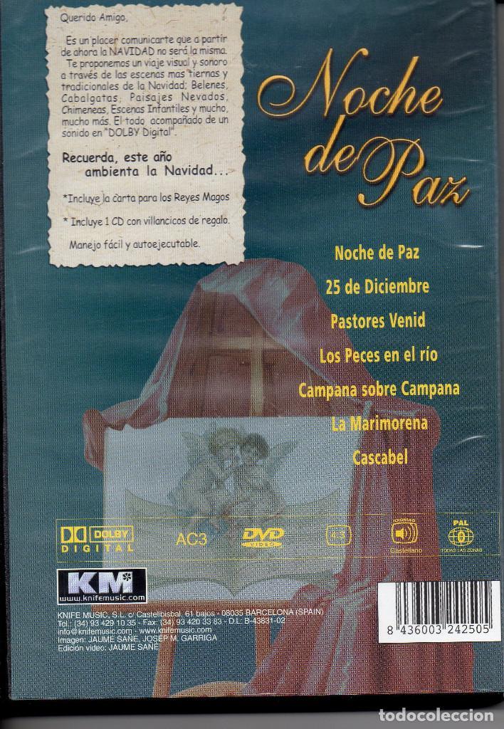 Vídeos y DVD Musicales: NOCHE DE PAZ-- DVD+CD - Foto 2 - 288560088