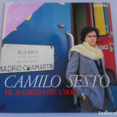 Vídeos y DVD Musicales: CAMILO SESTO - DE MADRID CON AMOR - LASERDISC. Lote 289373298