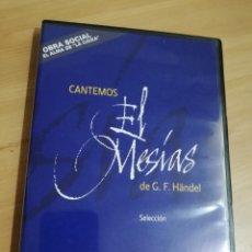 Vídeos y DVD Musicales: CANTEMOS EL MESÍAS (G. F. HAENDEL). Lote 289948483