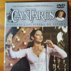 Vídeos y DVD Musicales: ISABEL PANTOJA + LA CAMBORIA - CANTARES DVD SERIE TV. LAUREN POSTIGO -. Lote 292601978