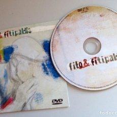 Vídeos y DVD Musicales: DVD RARO DESCATALOGADO FITO & FITIPALDIS - VIDEOCLIPS POR LA BOCA VIVE EL PEZ,.- DOCUMENTAL.DRO 2007. Lote 294480598
